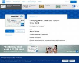 American Express Flying Blue Entry Card