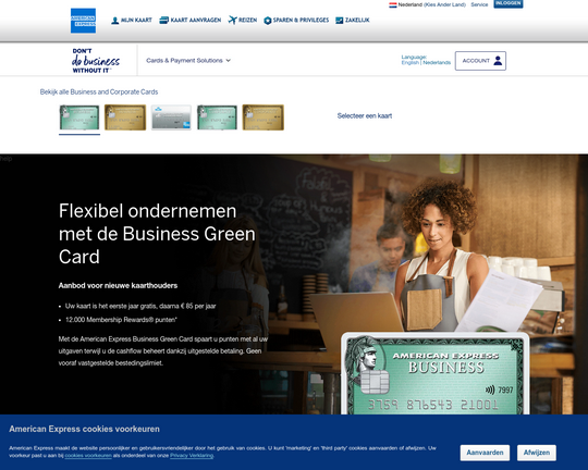 American Express Business Green Card Logo