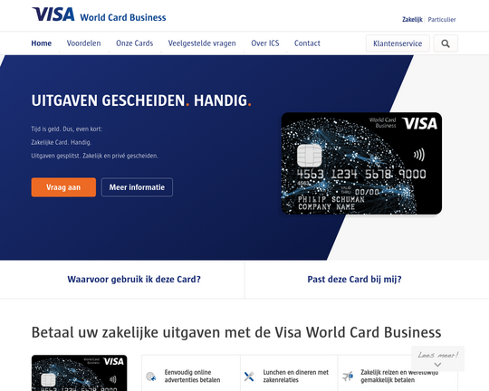 Visa World Card Business Logo